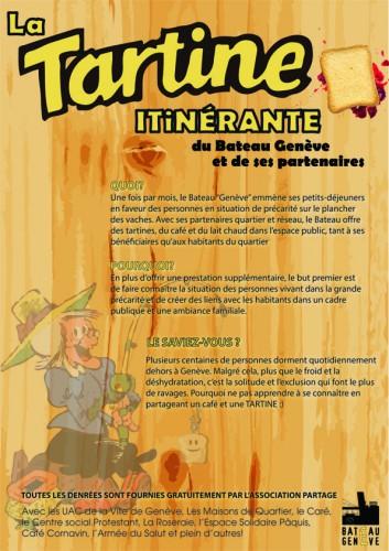 Tartine itinerante affiche