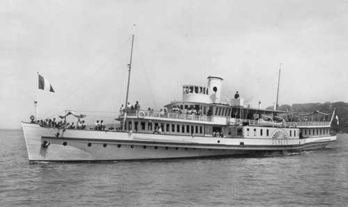 Le Genève en 1934